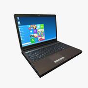 笔记本电脑笔记本电脑低聚游戏准备好了 3d model