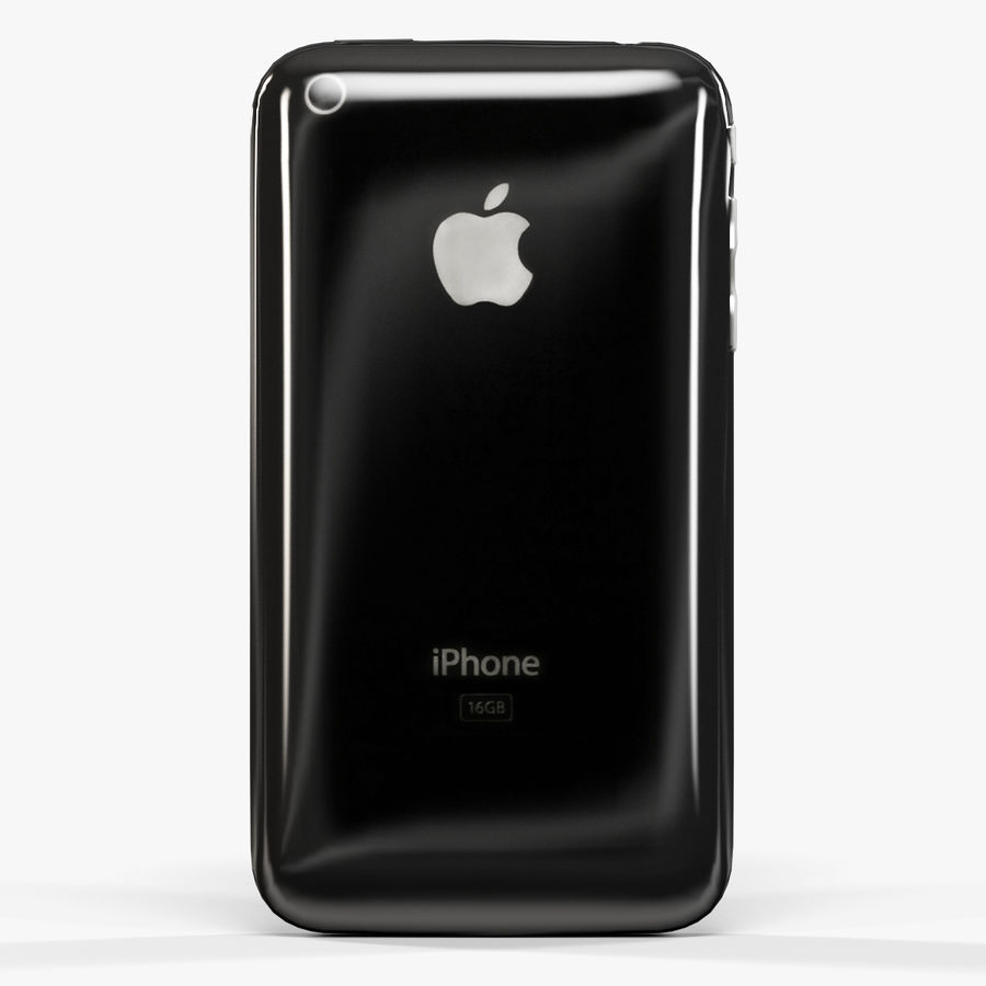 Apple iPhone 3Gs royalty-free 3d model - Preview no. 5