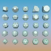 Geometric Shape Pack 11 3d model