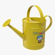 Niños regadera amarillo modelo 3d