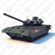 T-14 ARMATA modelo 3d