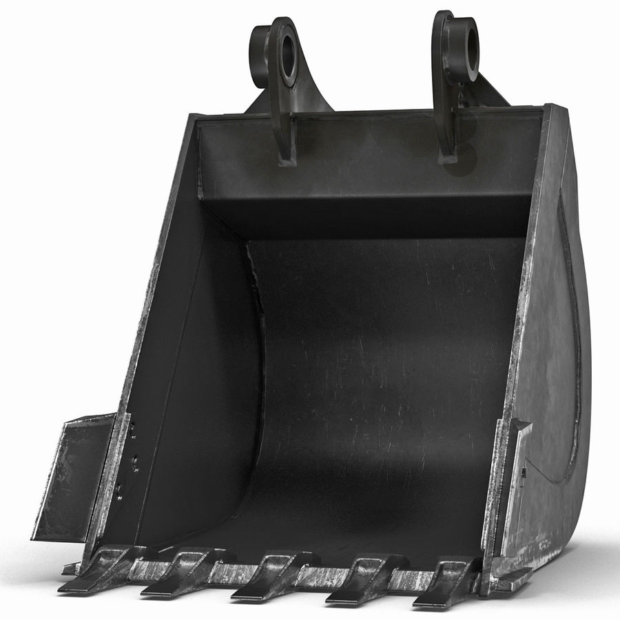 Excavator Bucket royalty-free 3d model - Preview no. 4