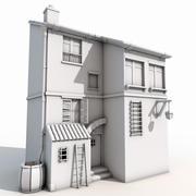 Gammal byggnad 3d model
