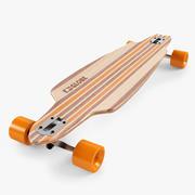 Longboard 38 inç 3d model