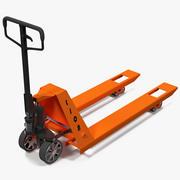 Pallet Jack Orange 3D-Modell 3d model