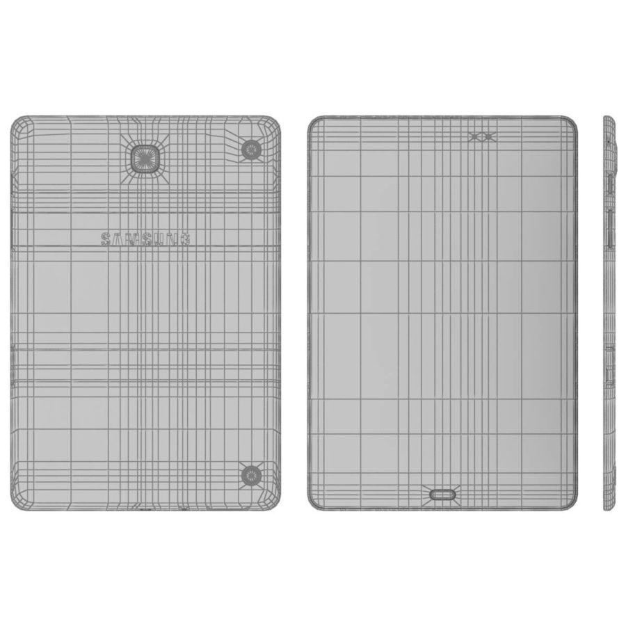 Samsung Galaxy Tab A 8 0 White 3D Model $39 -  c4d  max  ma