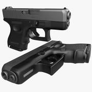 Glock 26 Black 3d model