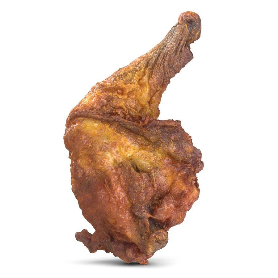 Crispy Chicken Leg royalty-free 3d model - Preview no. 2