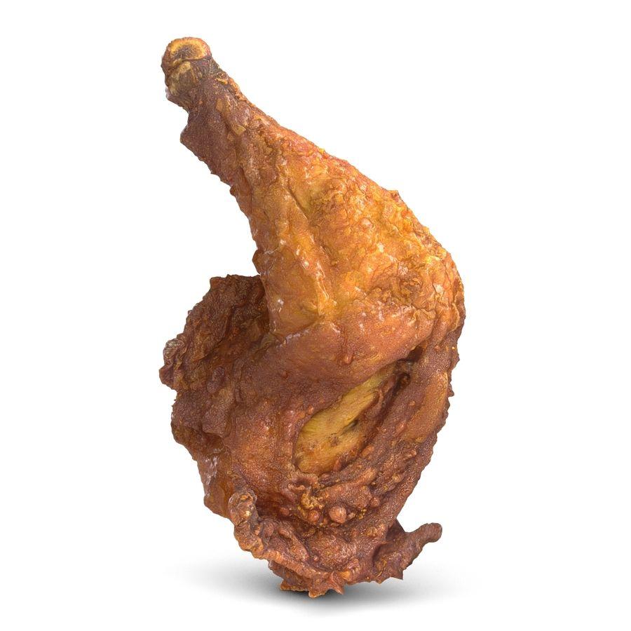 Crispy Chicken Leg royalty-free 3d model - Preview no. 1
