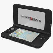 Nintendo 3DS XL Modello 3D bianco 3d model