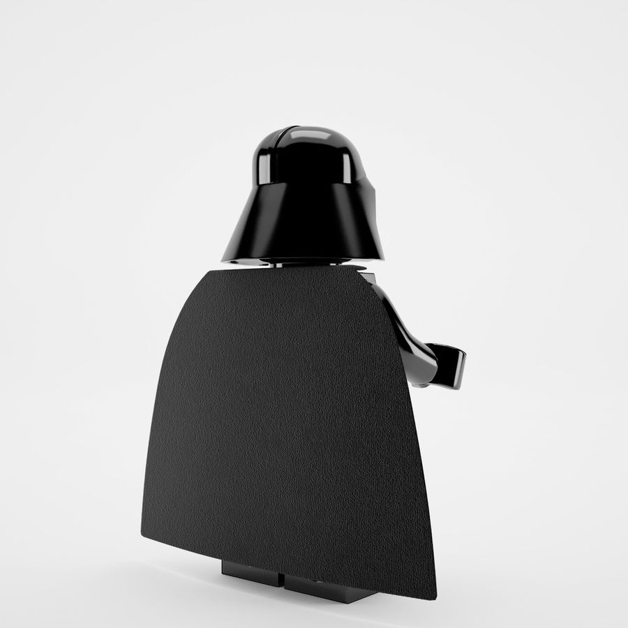 Lego star wars royalty-free 3d model - Preview no. 11