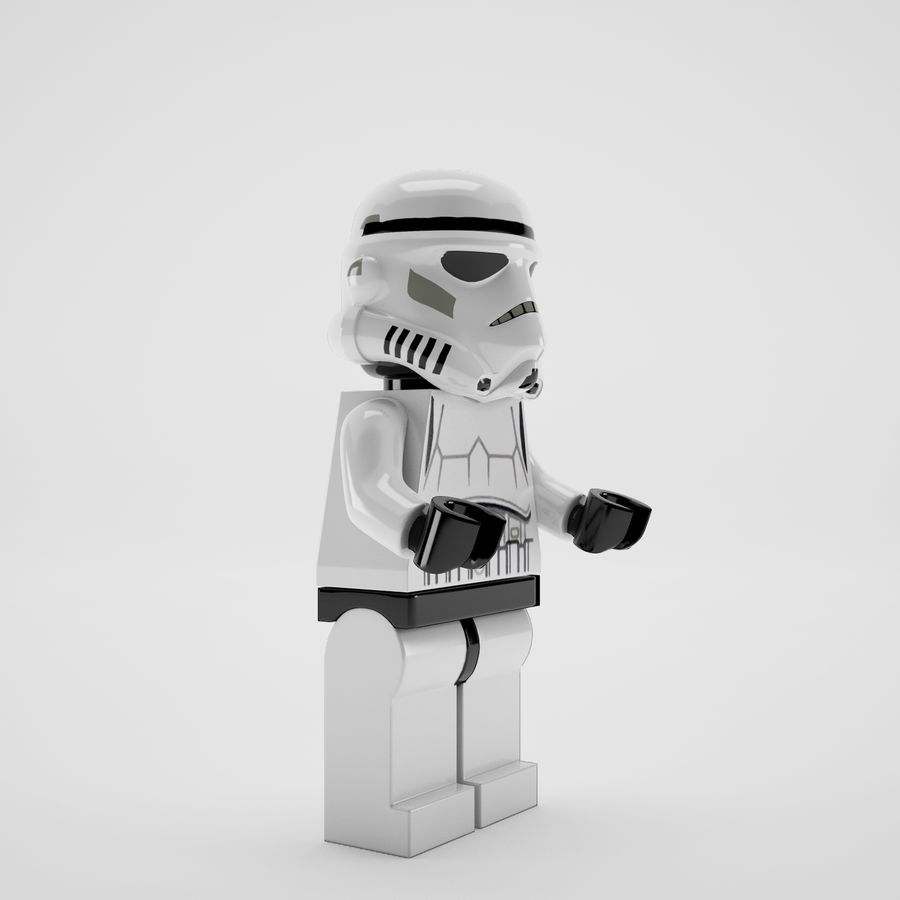 Lego star wars royalty-free 3d model - Preview no. 6