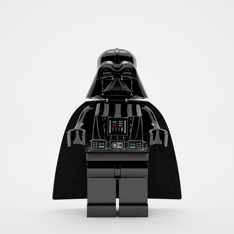 Lego star wars royalty-free 3d model - Preview no. 9