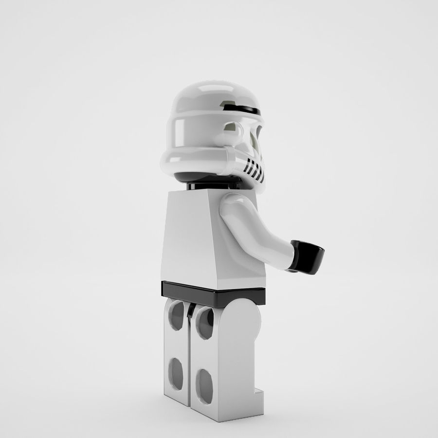 Lego star wars royalty-free 3d model - Preview no. 7