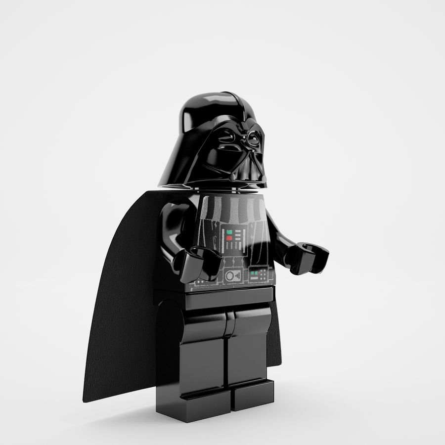 Lego star wars royalty-free 3d model - Preview no. 10