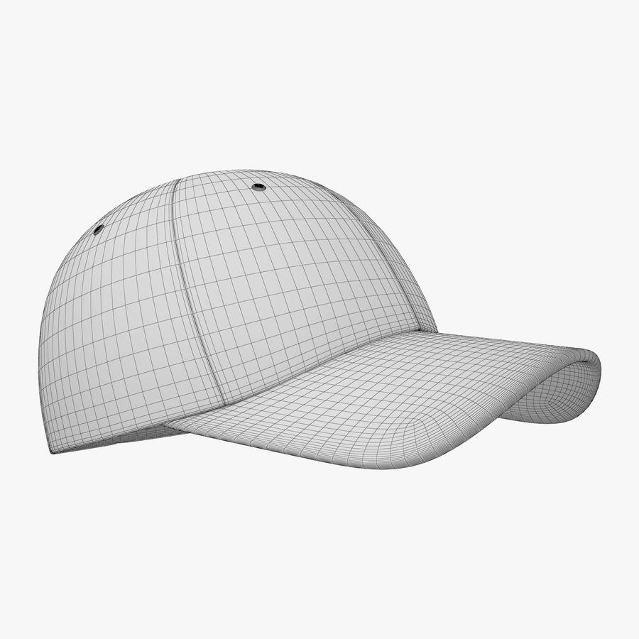 Boné de baseball royalty-free 3d model - Preview no. 19