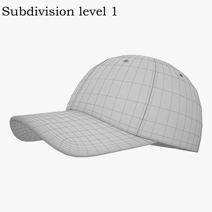 Boné de baseball royalty-free 3d model - Preview no. 12