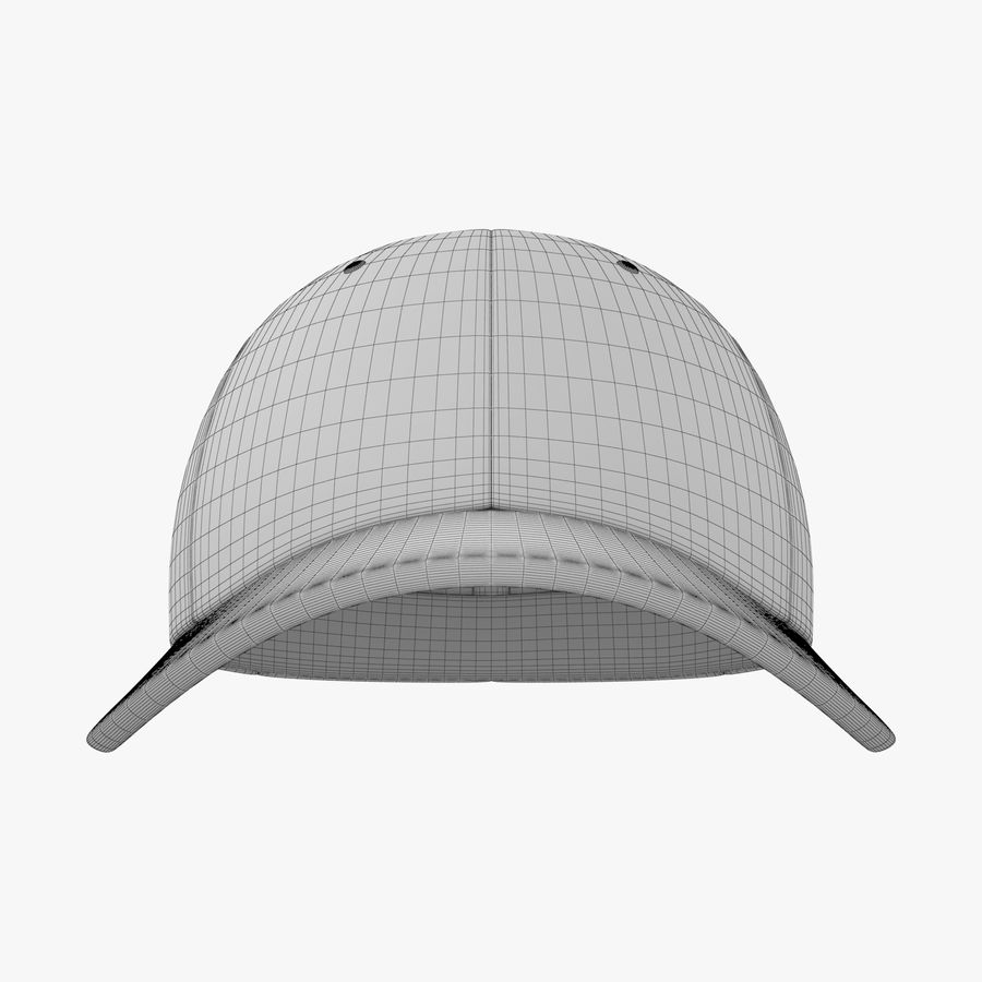 Boné de baseball royalty-free 3d model - Preview no. 20