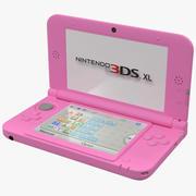 닌텐도 3DS XL 핑크 3D 모델 3d model