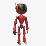 Robot Market 3d model