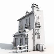 Casa antigua modelo 3d