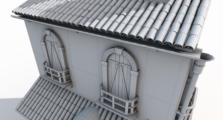 Casa velha royalty-free 3d model - Preview no. 17