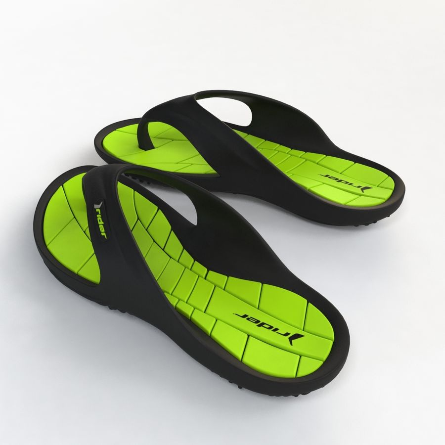 Flip Flop Rider royalty-free 3d model - Preview no. 11