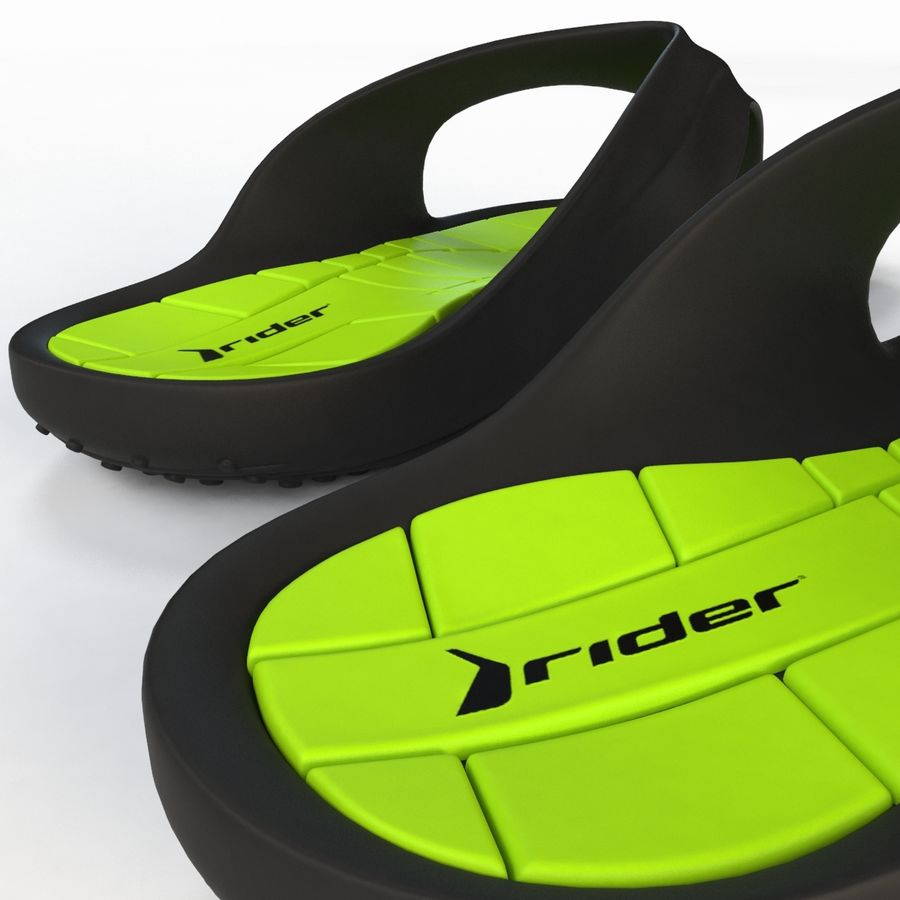 Flip Flop Rider royalty-free 3d model - Preview no. 13