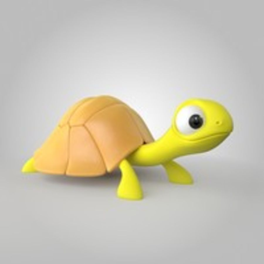 Turtle royalty-free 3d model - Preview no. 3