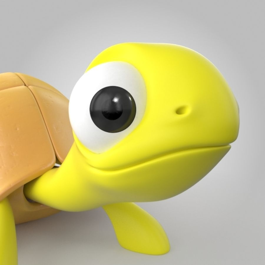 Turtle royalty-free 3d model - Preview no. 4