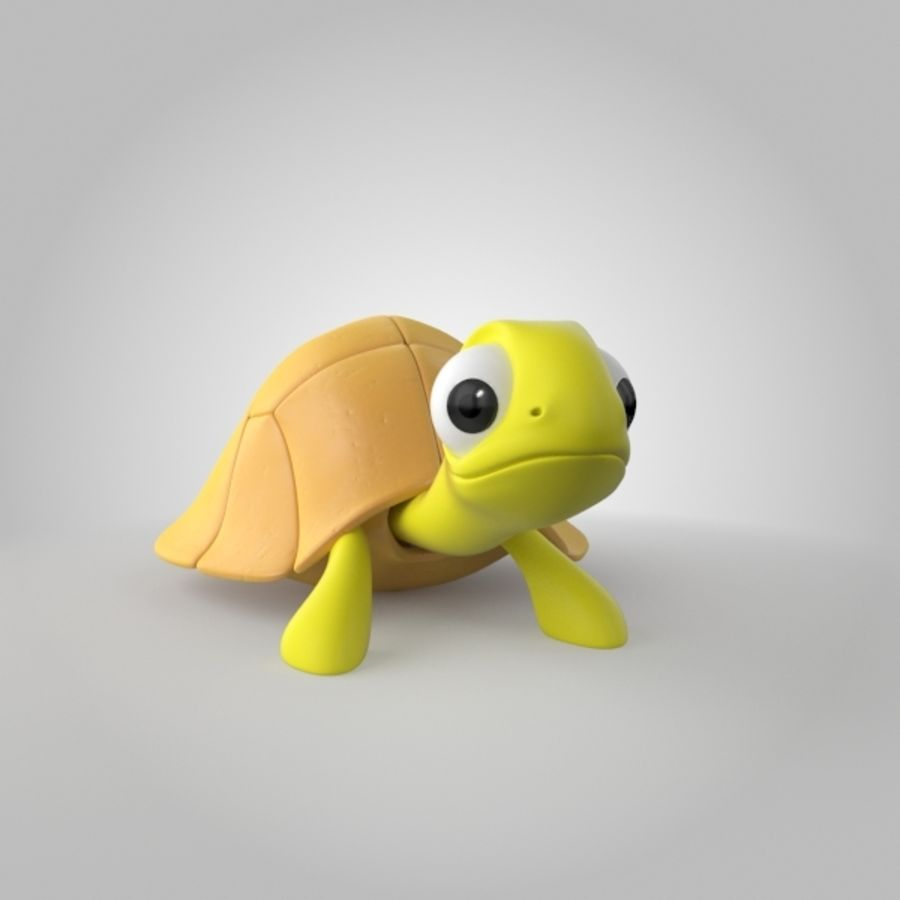 Turtle royalty-free 3d model - Preview no. 1
