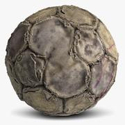Football Vieux 2 3d model