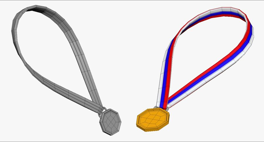 Cartoon Track and Field Athlete Sculpt royalty-free 3d model - Preview no. 63