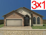 Homes Collection 3d model