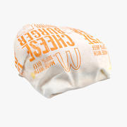 Wrapped Cheese burger 3d model