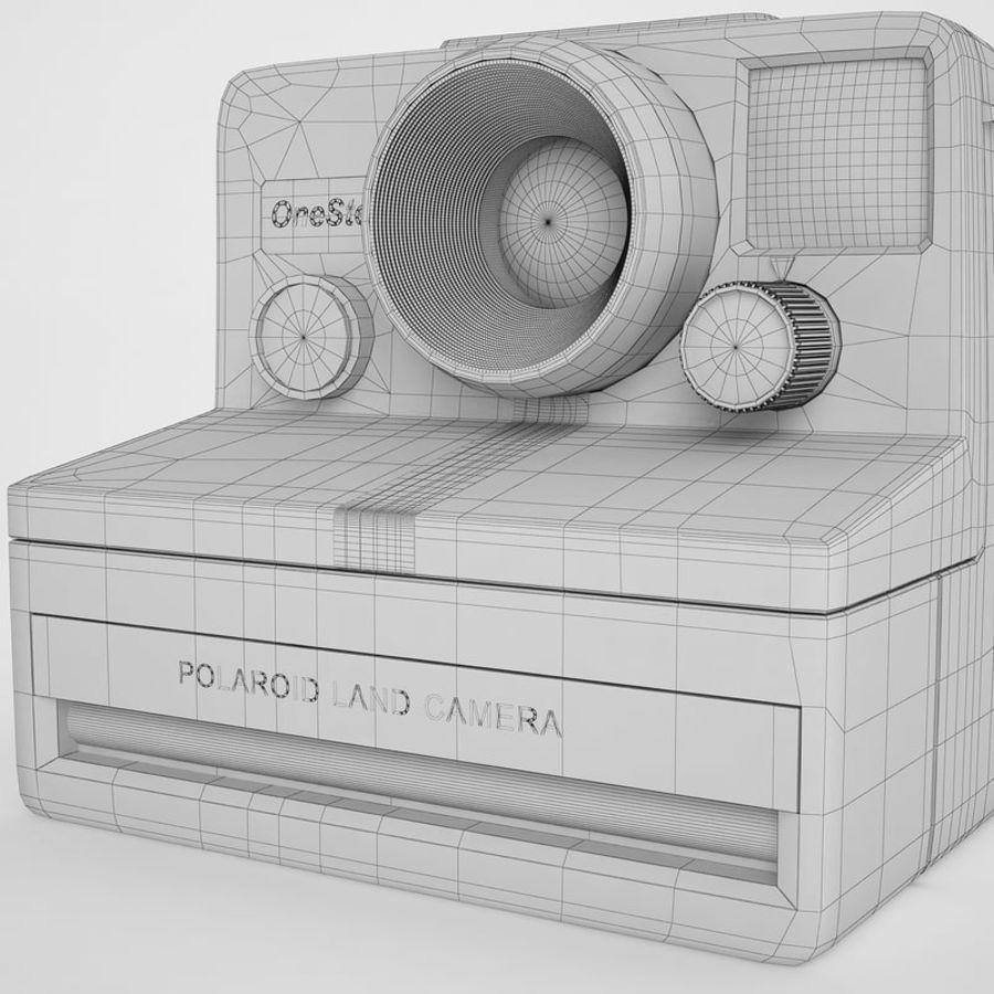 Polaroid Camera 01 royalty-free 3d model - Preview no. 20