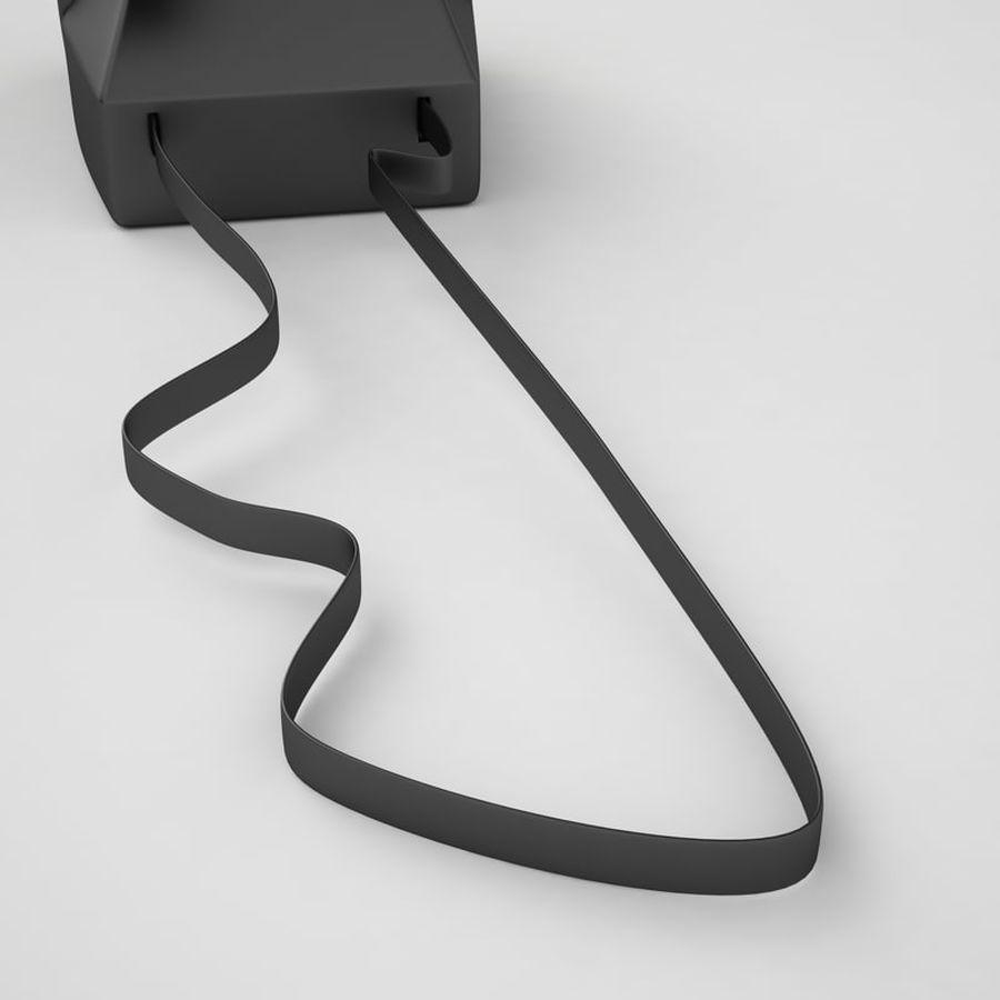 Polaroid Camera 01 royalty-free 3d model - Preview no. 17