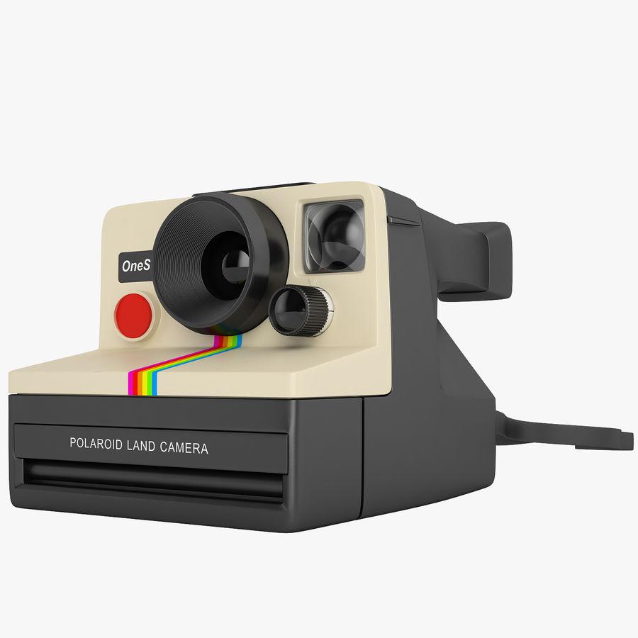Polaroid Camera 01 royalty-free 3d model - Preview no. 1