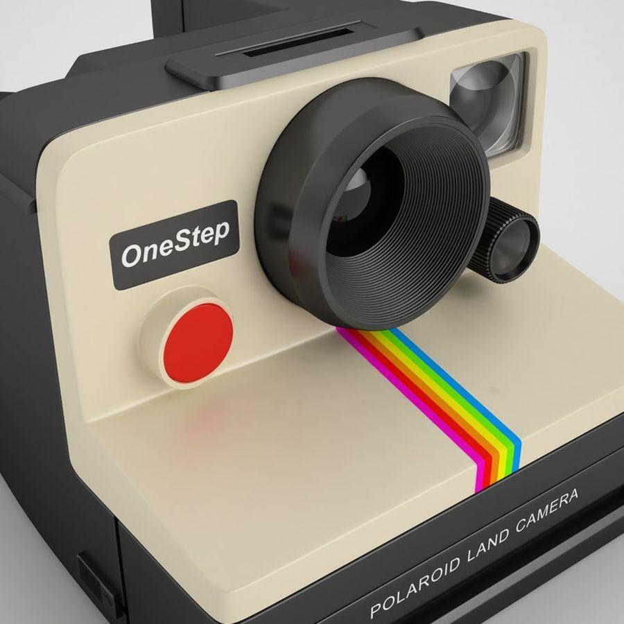 Polaroid Camera 01 royalty-free 3d model - Preview no. 21