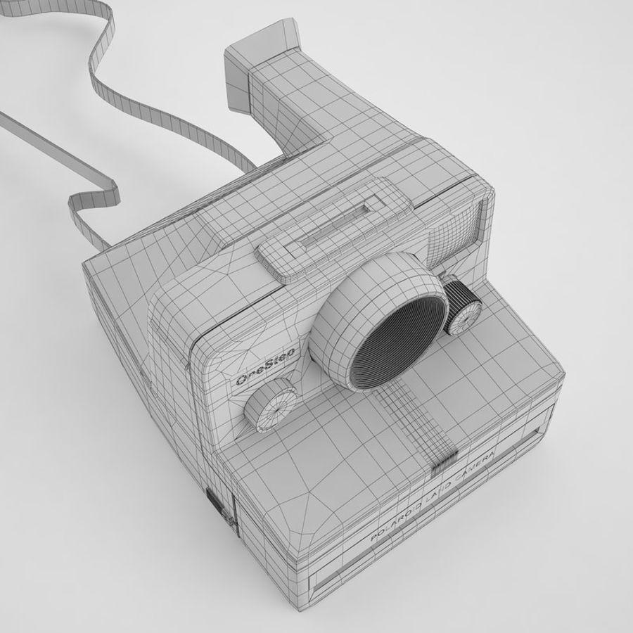 Polaroid Camera 01 royalty-free 3d model - Preview no. 8