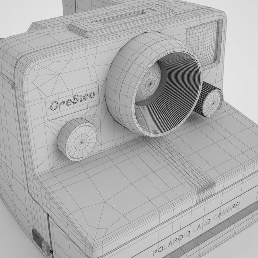 Polaroid Camera 01 royalty-free 3d model - Preview no. 22