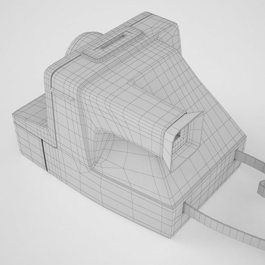 Polaroid Camera 01 royalty-free 3d model - Preview no. 12