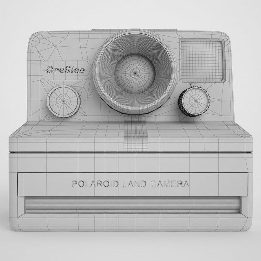Polaroid Camera 01 royalty-free 3d model - Preview no. 6