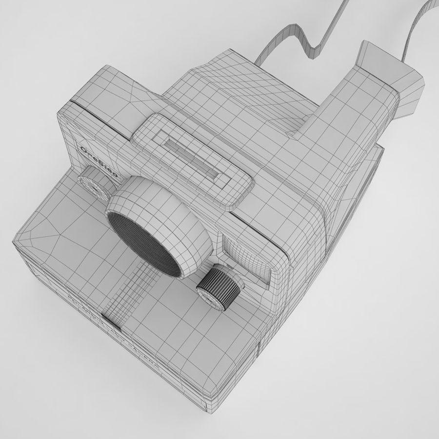 Polaroid Camera 01 royalty-free 3d model - Preview no. 16