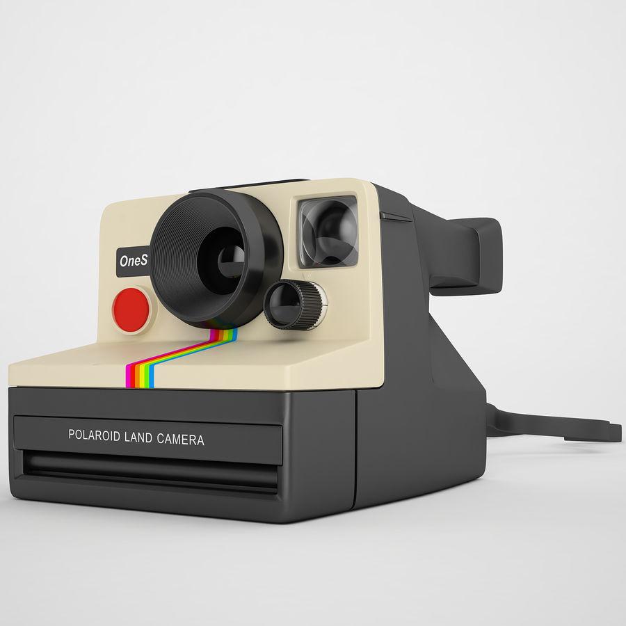 Polaroid Camera 01 royalty-free 3d model - Preview no. 2