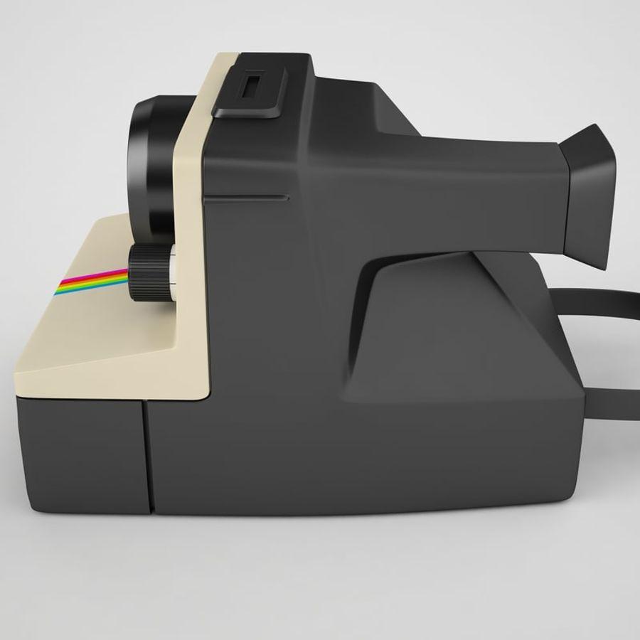 Polaroid Camera 01 royalty-free 3d model - Preview no. 13