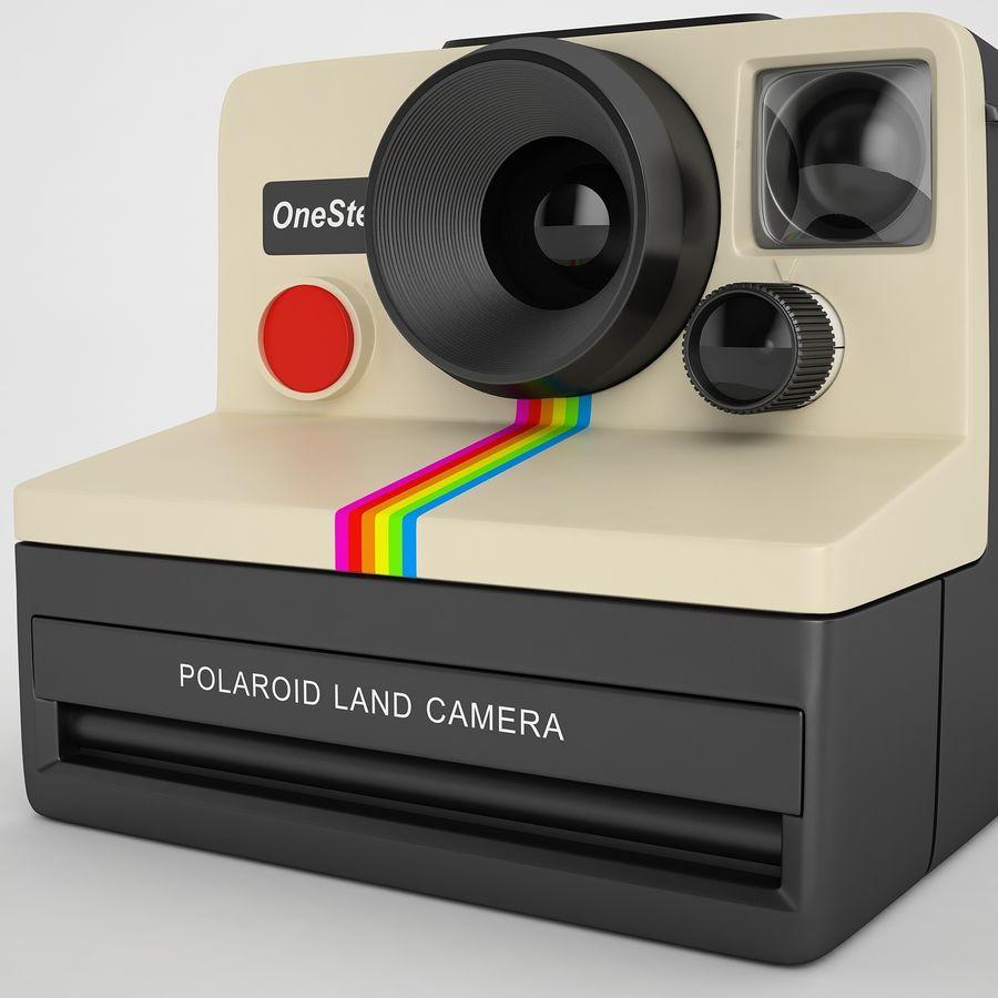 Polaroid Camera 01 royalty-free 3d model - Preview no. 19