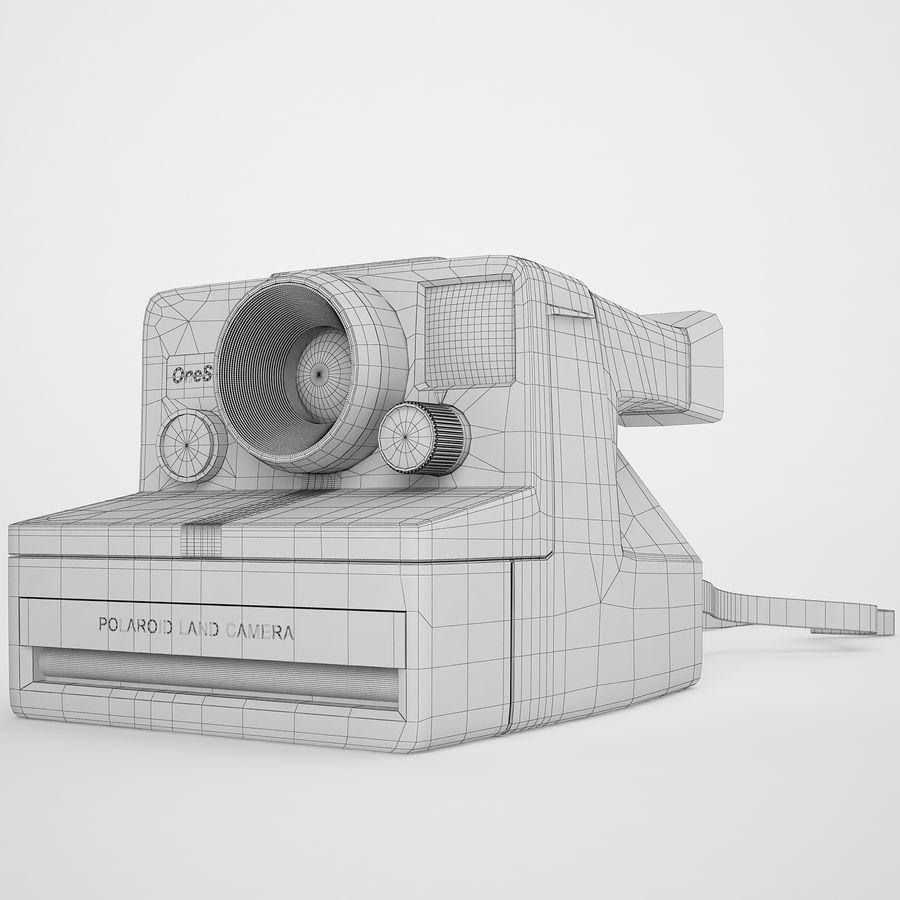Polaroid Camera 01 royalty-free 3d model - Preview no. 4
