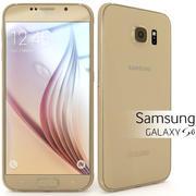 Samsung Galaxy S6 Gold 3d model