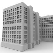 Kompleks apartamentów III 3d model